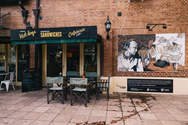 Cafetería típica argentina
