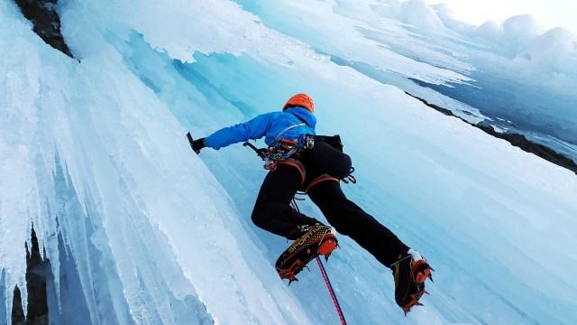 Deportes extremos en hielo