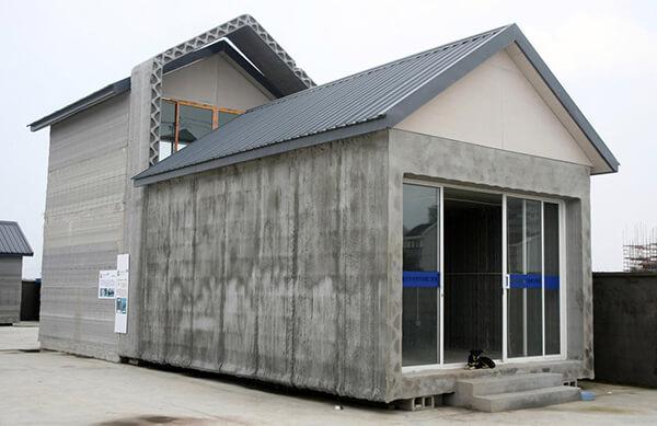 Construir casas prefabricadas con impresoras 3D