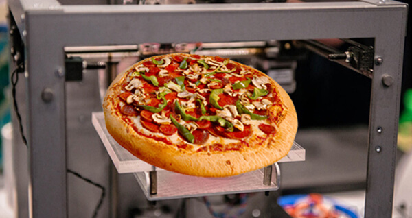 Imprimir alimentos 3D
