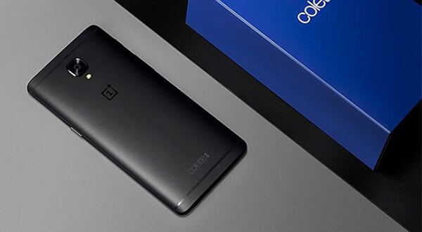OnePlus 3T Colette Edition en color negro mate