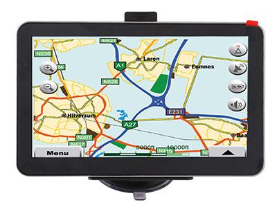 Navegador GPS AW-704 para el coche