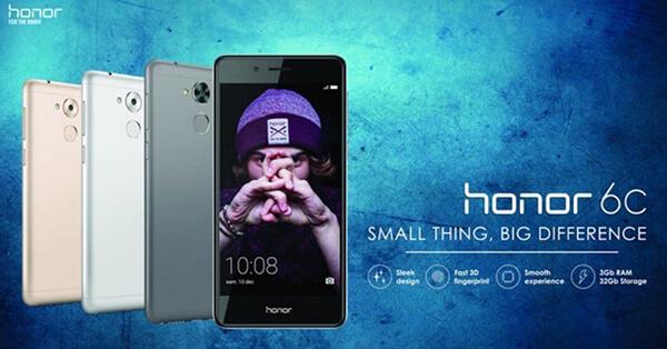 Presentación del nuevo smartphone Honor 6C