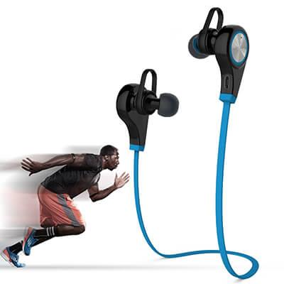 Auriculares sin cables para hacer deporte