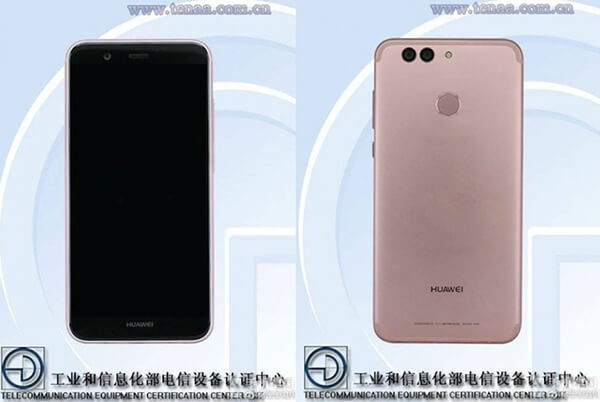 Nuevo smartphone Huawei Nova 2 con doble cámara trasera