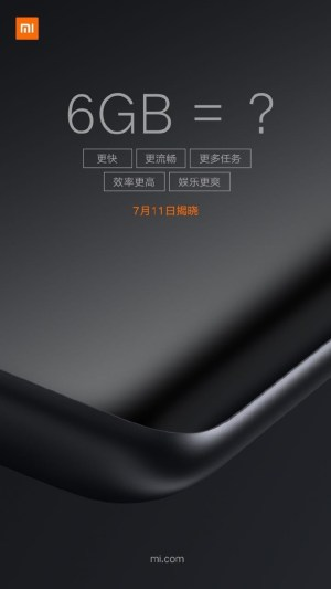 Xiaomi Mi6 Plus disponible próximamente