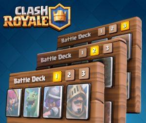 Las barajas de Clash Royale permiten miles de combinaciones