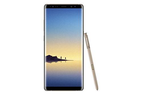 """Samsung Galaxy Note 8 - Smartphone libre de 6.3"""" (4G, Wifi, Bluetooth, Exynos 8895 Octacore 2.3 GHz + 1.7 GHz, 64 GB de memoria interna, 6 GB de RAM, cámara dual de 12 MP, Android, dual-SIM) dorado"""