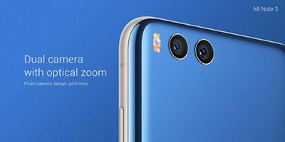 Características Xiaomi Mi Note 3