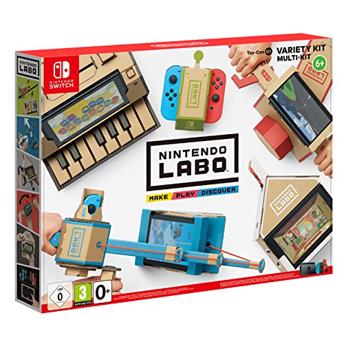 Switch Nintendo Labo - Kit variado (Toy-Con 01)