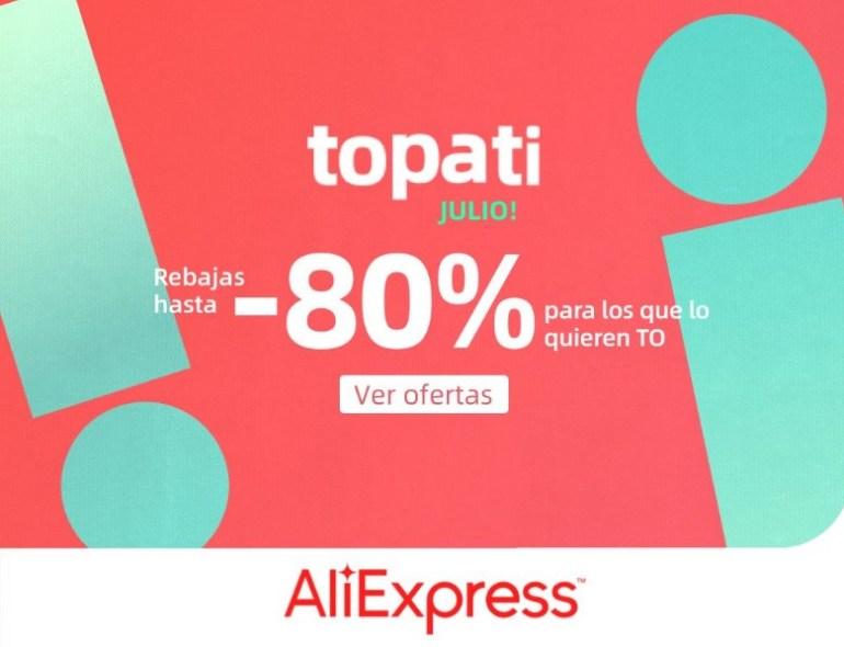 comprar ofertas Promoción Topati Julio en AliExpress