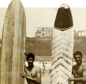 naissance du surf au pays basque