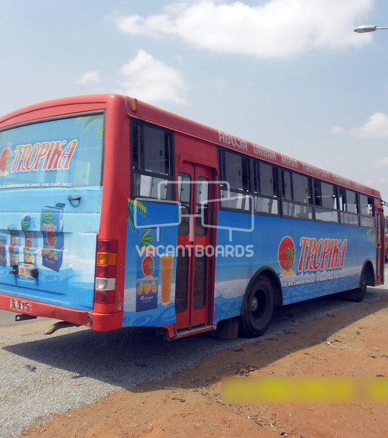 Abuja Urban Transit Advertising