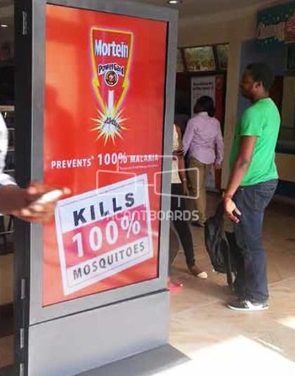 Digital Screen - AOS Mall Surulere, Lagos