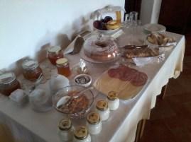 Lu Salconi's breakfast