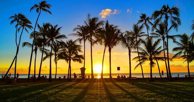Hwaiian beach