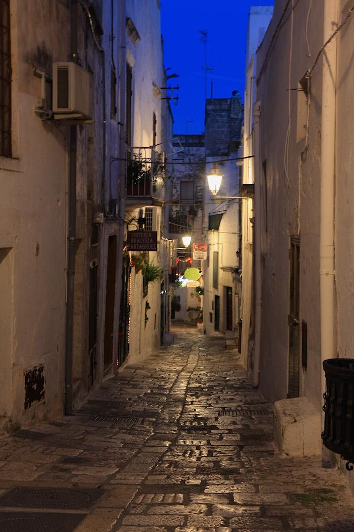 Ostuni Puglia alleways medieval