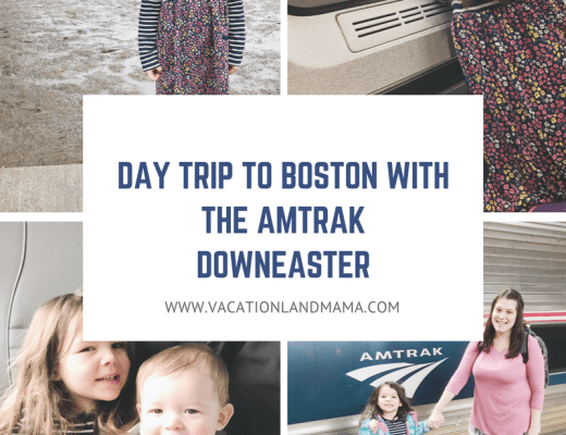 Day trip to boston Amtrak Downeaster