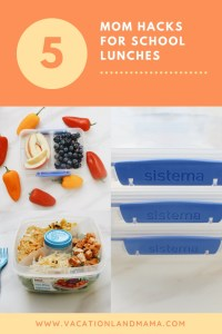 Mom hacks for school lunches Sistema