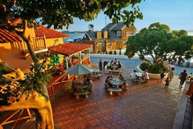 Seaport Village In San Diego California