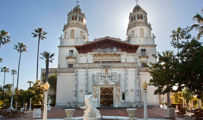San Francisco Tourist Attractions - Hearst Castle