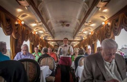 train in san francisco - wine train tour