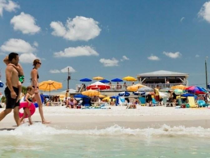 Caddy's on the Beach st petersburg FL
