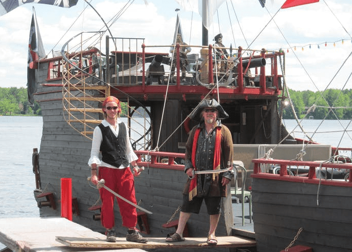 Pirates Hideaway in Eagle River Wis