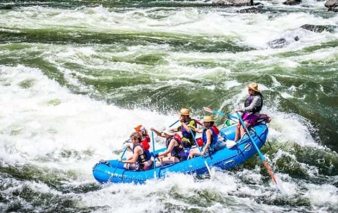 River Rafting in Glacier National Park