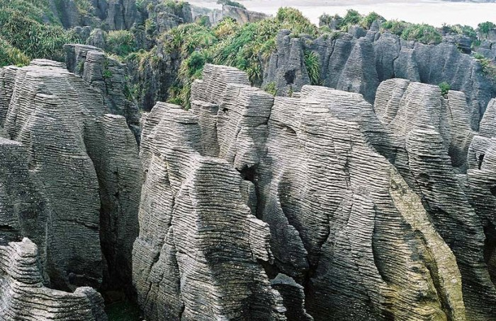 New Zealand in the Rocks