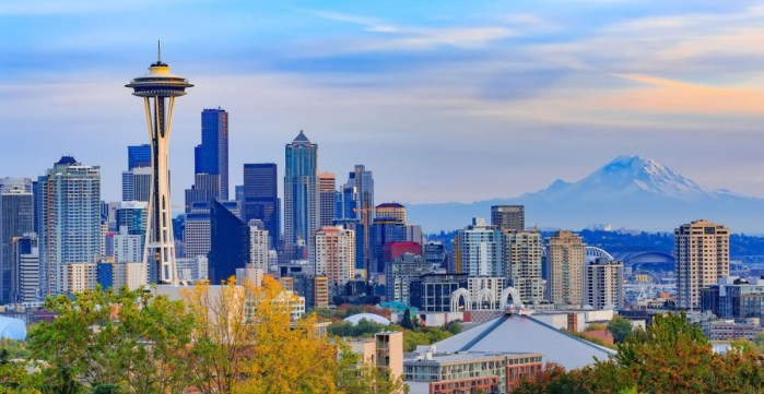 Seattle Washington - Most Beautiful Places in the World