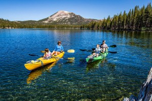 Summer Vacation in the Mountains in Mammoth Mountain California