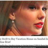Taylor Swift Rumored To Be Buying A Home On Sanibel
