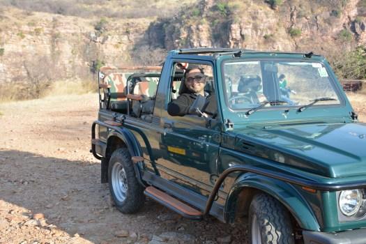 Ranthambore safari gypsy