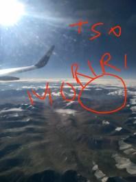 Bird's view of Tso Moriri ... delighted