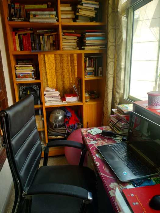 WFH- Makeshift office at home