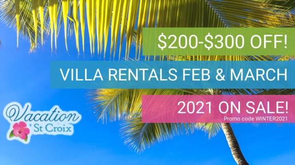 2021 Vacation Villa Sale St Croix US Virgin Islands
