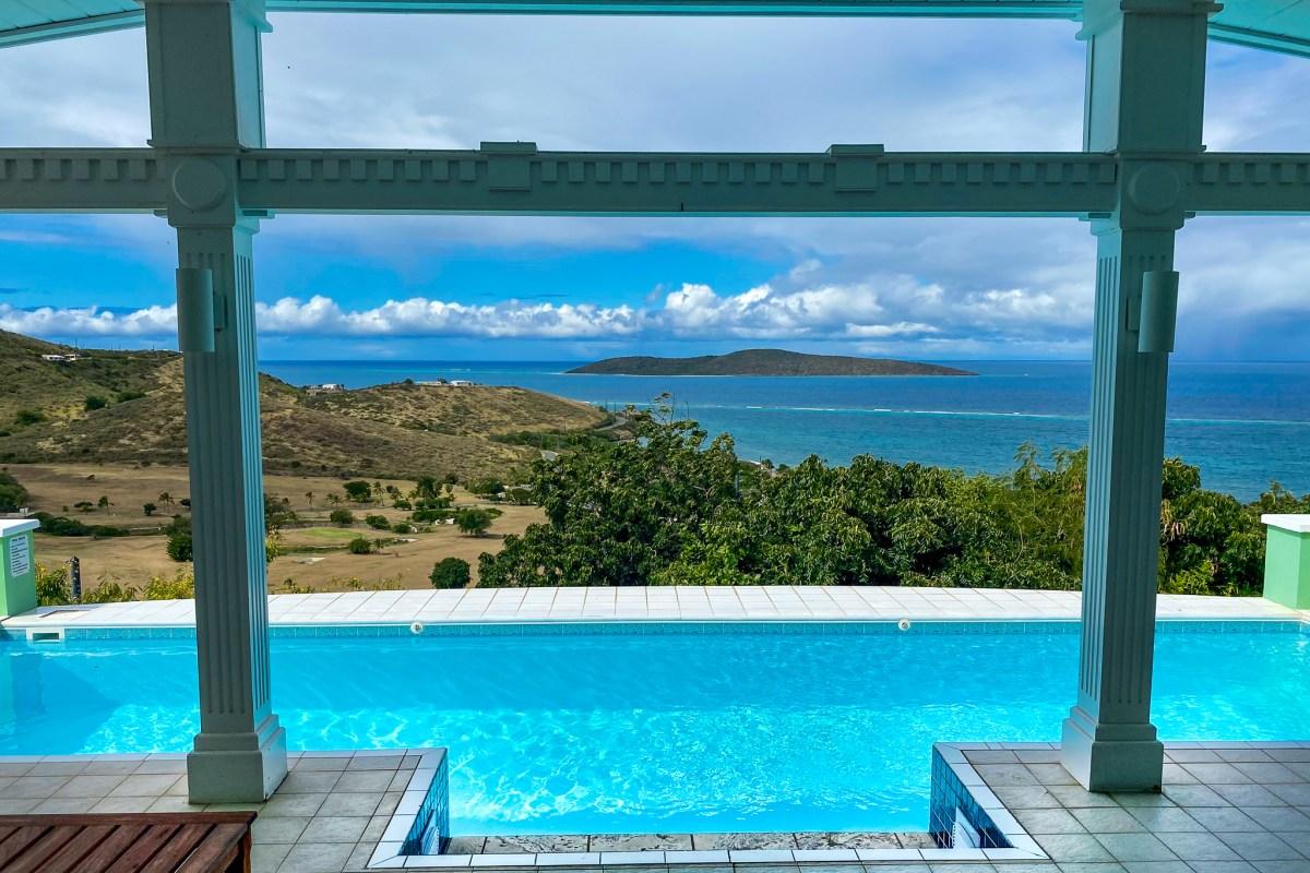 Amonoka St Croix Vacation Villa pool