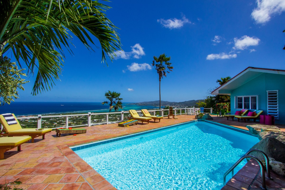 Casa de Vista St Croix Vacation Villa pool