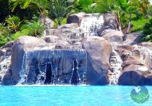 Casa Conde Beachfront Hotel Waterfall