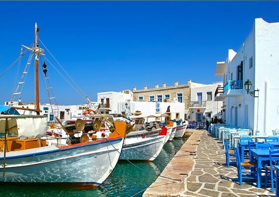sailing charter destinations in greece