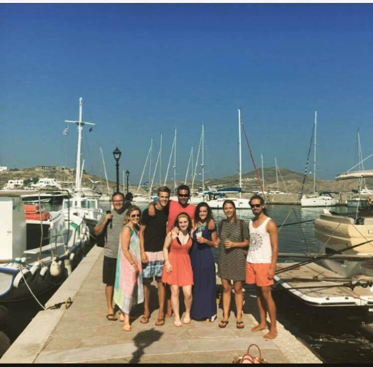 our skippered sailing charter in greece summer 2017