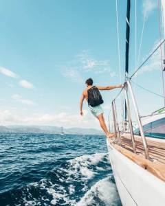 sailing charter packing list cover photo