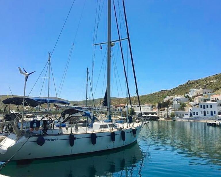 sailing sail skippered yacht
