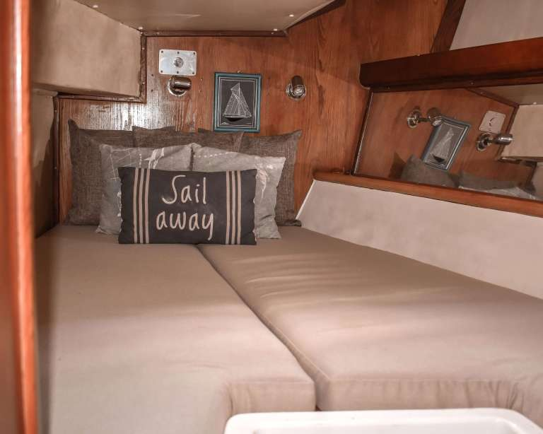 1 of 2 back cabins