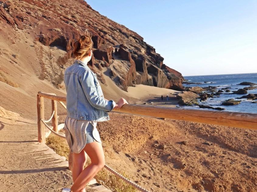 playa de la tejita, tenerife, islas canarias