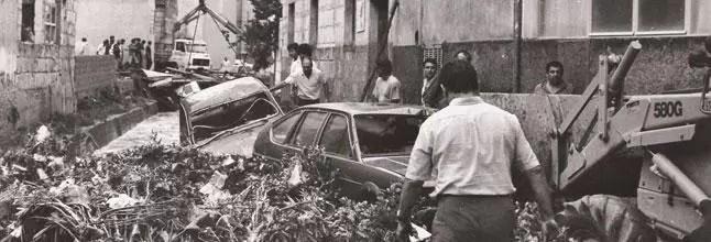 majorka powodz 1989