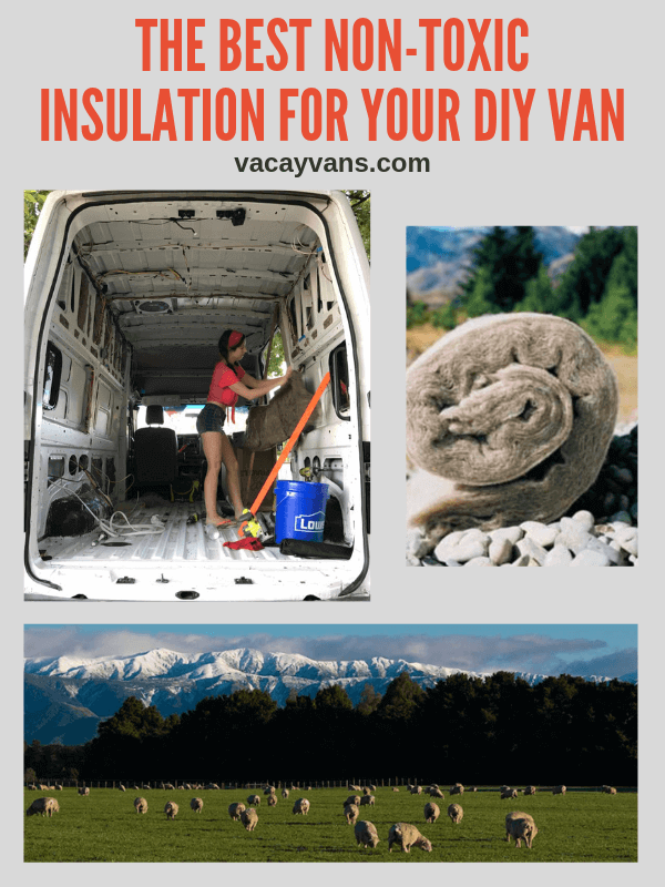 insultation for van