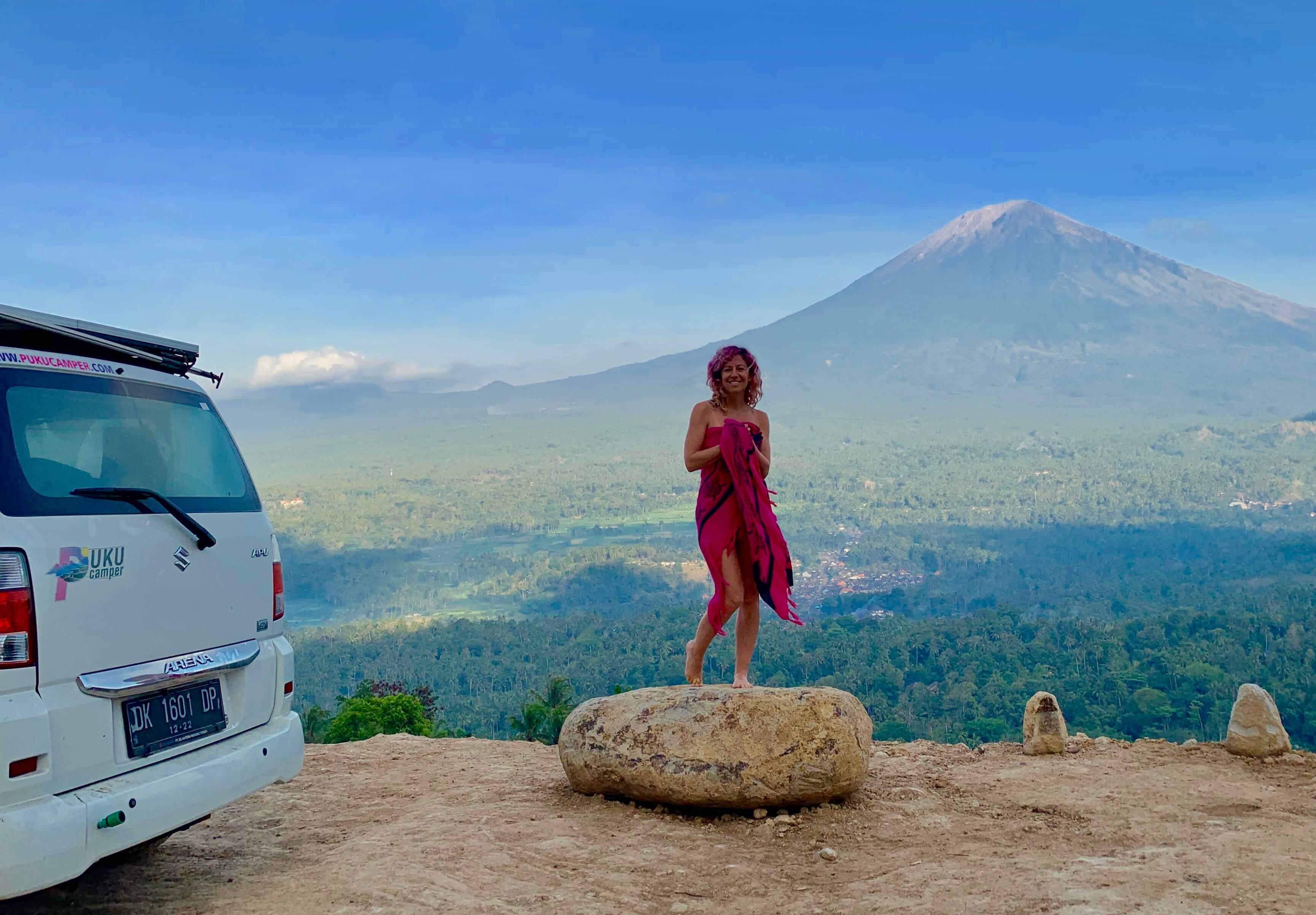 vanlife bali road trip camper van rental pukucamper