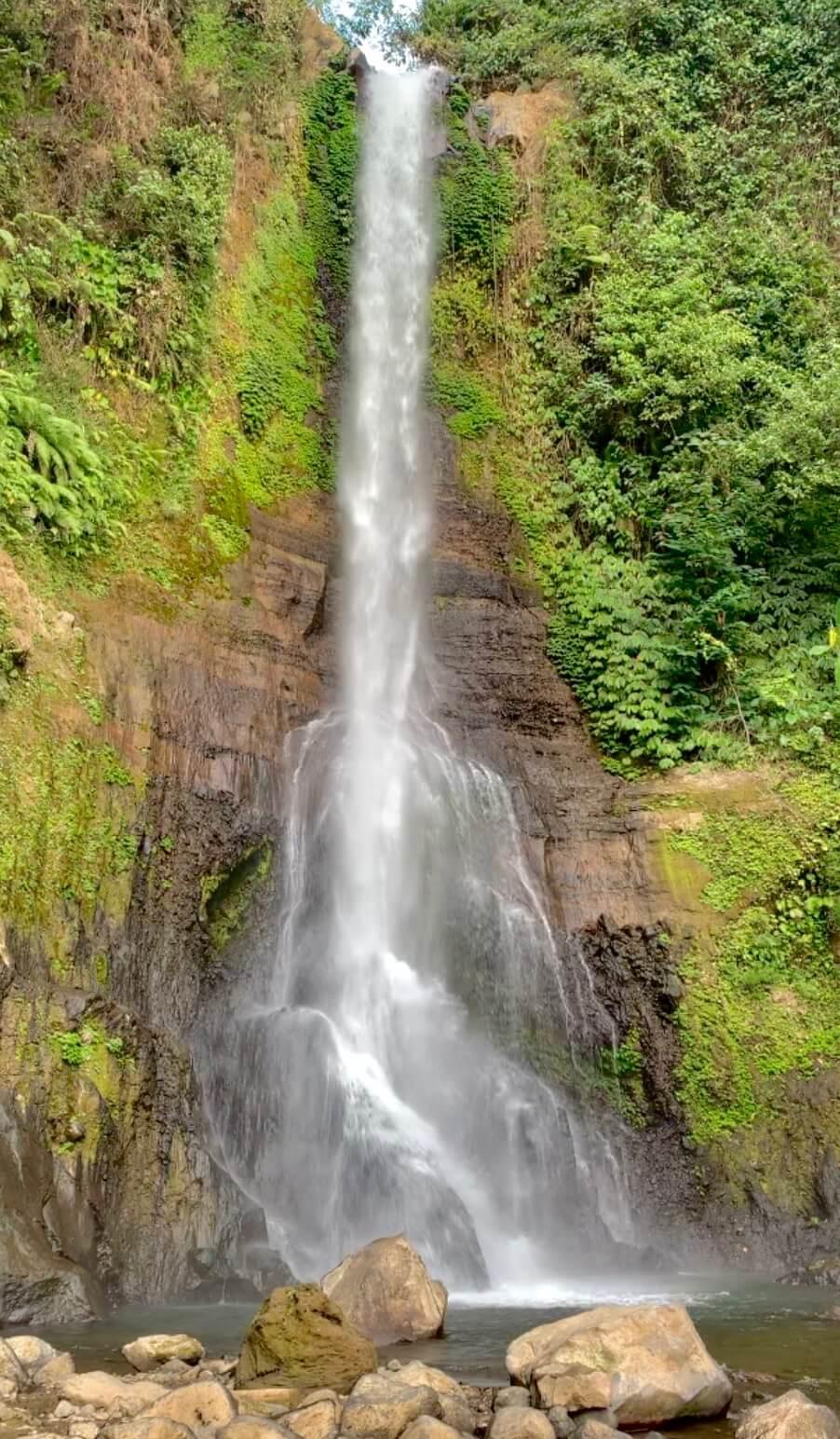 Bali waterfalls PukuCamper rental camper van vacay vans